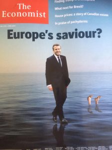 Macron the economist portada